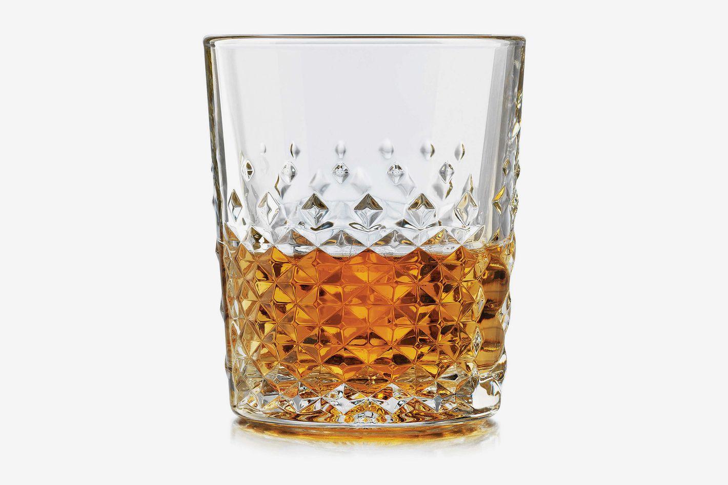 Libbey Glass 12-Ounce 4-Piece Perfect Scotch Set