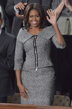 michelle obama�s suit jacket has already sold out