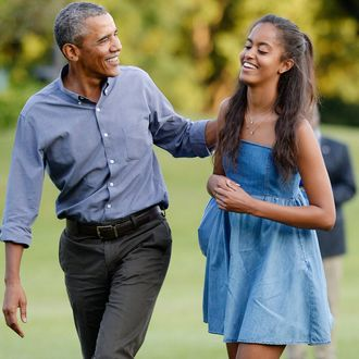 First Family Returns To White House From Martha's Vineyard Vacation