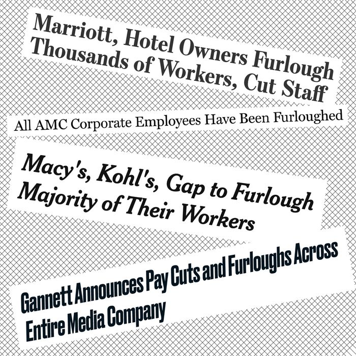 Amid the coronavirus pandemic, many companies are furloughing employees.