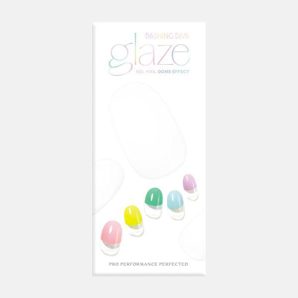 Dashing Diva Glaze Candy Village Semi-Cured Nail Strips