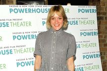 "Actress Chloe Sevigny of the New York Stage And Film production ""Abigail/1702"" attends the New York Stage And Film's 2012 Season Launch at Joe Allen Restaurant on June 12, 2012 in New York City."