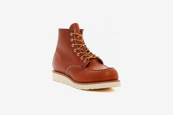 Red Wing Moc Lace-Up Leather Boot