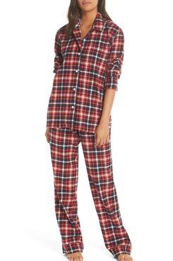 J.Crew Flannel Pajamas