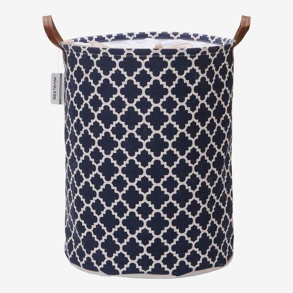 Sea Team Moroccan Lattice Pattern Laundry Hamper