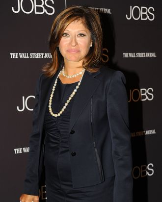Maria Bartiromo==THE WALL STREET JOURNAL presents a special New York screening of Open Road and Five Star Feature Films' JOBS==MoMA, NYC==August 7, 2013==?Patrick McMullan==Photo - Paul Bruinooge/PatrickMcMullan.com====