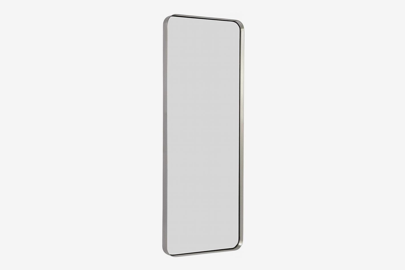 Adesso Alice Powder Coated Champagne Full Length Mirror with Steel Finishing