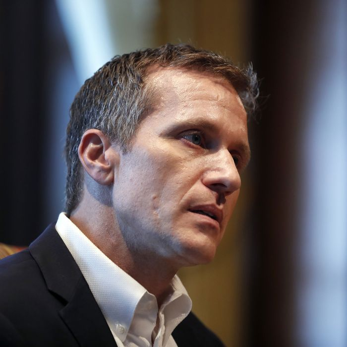 Missouri Governor indicted for allegedly photographing