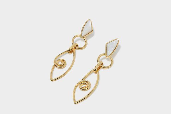 Lizzie Fortunato Divine Eye Earrings