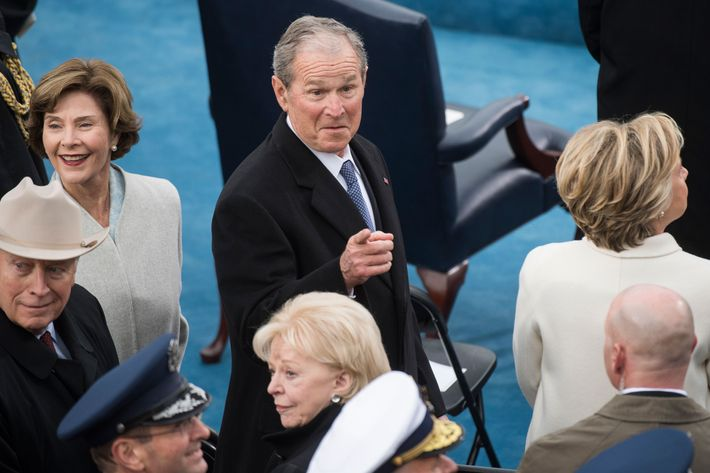 'Some weird sh*t' : George W Bush baffled by Trump's inauguration speech