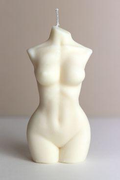 Slim Female Body Candle
