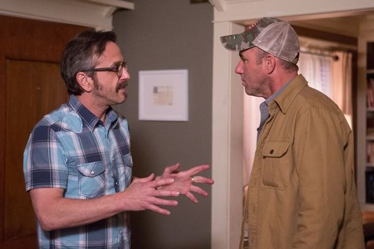 (L to R) Marc Maron, Jamie McShane  - Maron White Truck_2 Episode TBD: White Truck - Photo Credit: Chris Ragazzo/IFC