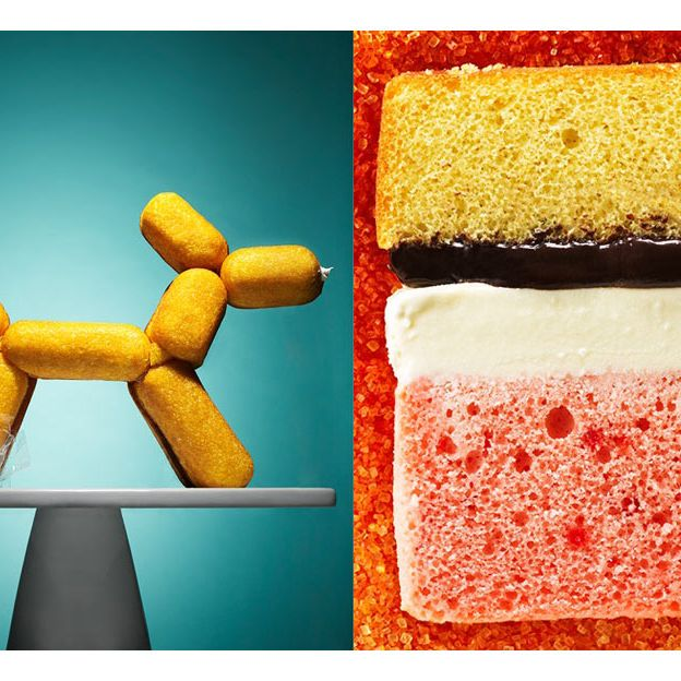 Koons Twinkies; Rothko ice-cream cake.