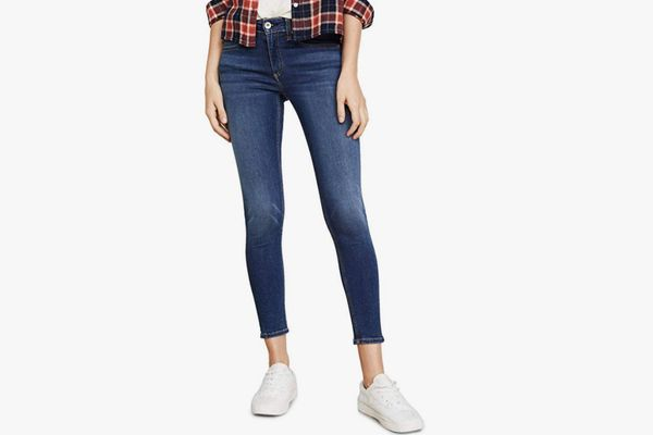 Rag & Bone/JEAN Cate Mid Rise Skinny Ankle Jeans
