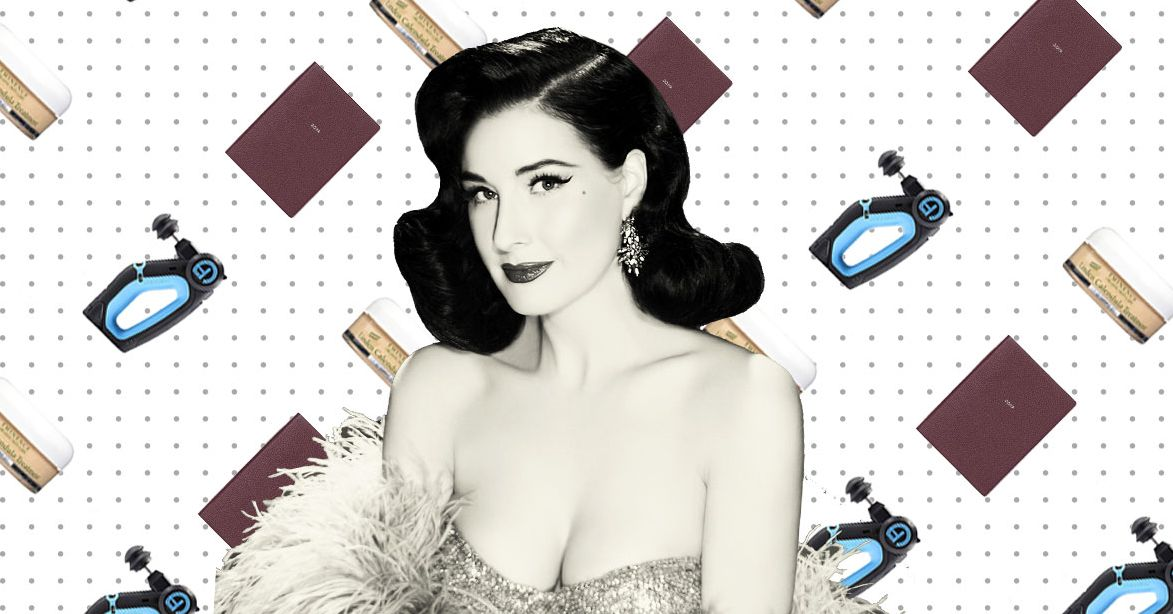 What Dita Von Teese Can't Live Without