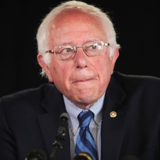 Bernie Sanders Campaigns In SF Bay Area One Day Before California Primary