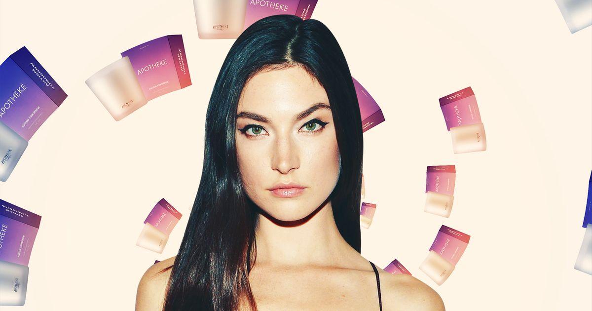 For This Victoria's Secret Model, Love Smells Like Lasagna