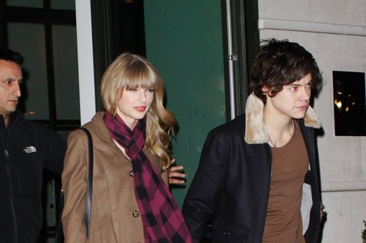 Taylor swift and Harry Styles go for Dinner at the Crosby Hotel in NYC.