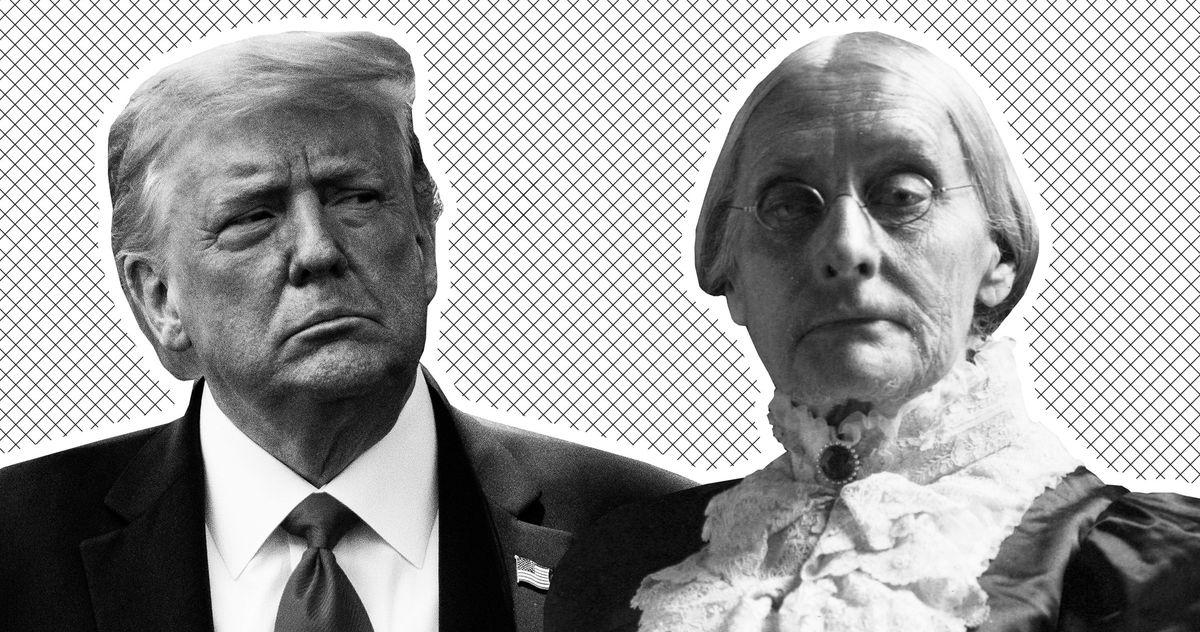 Trump's 'Very Important' Pardon Is … Susan B. Anthony?