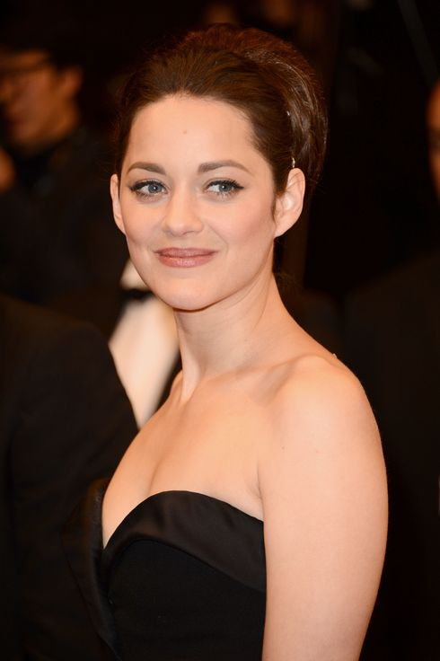 "Marion Cotillard attends the ""De Rouille et D'os"" Premiere during the 65th Annual Cannes Film Festival at Palais des Festivals on May 17, 2012 in Cannes, France."
