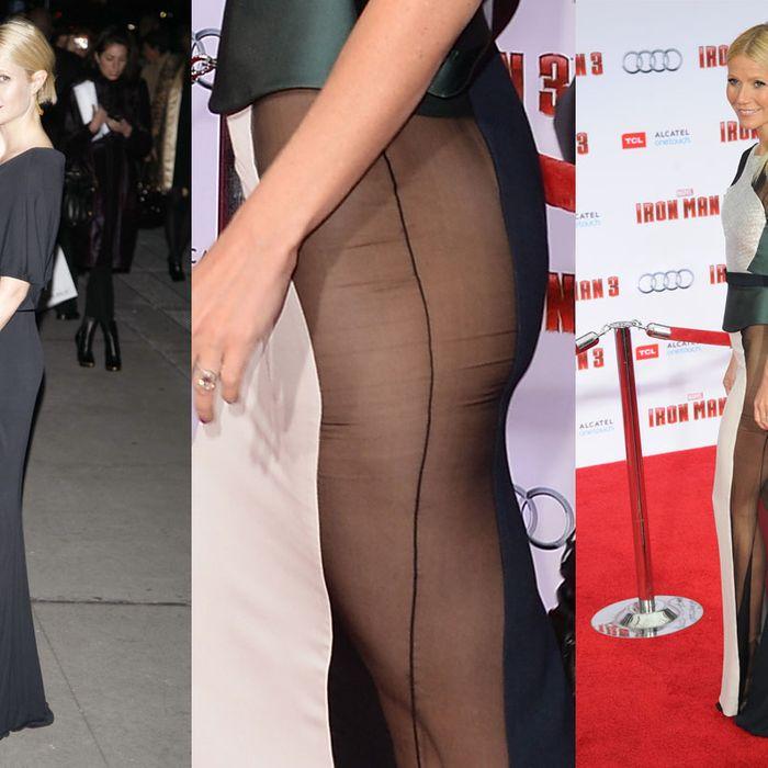 Gwyneth in 2006; Gwyneth in 2013.