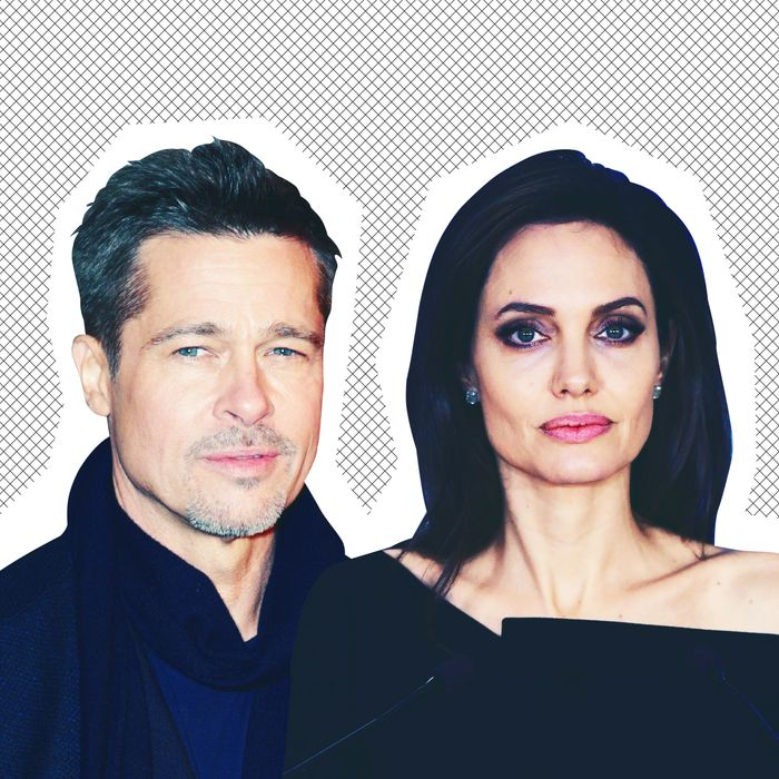 9de85e50c2f What s Going on With Brad Pitt and Angelina Jolie s Divorce