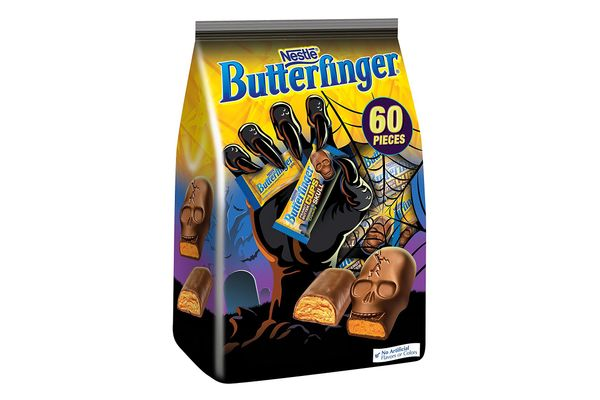 Butterfinger Halloween Candy, 60 Pieces