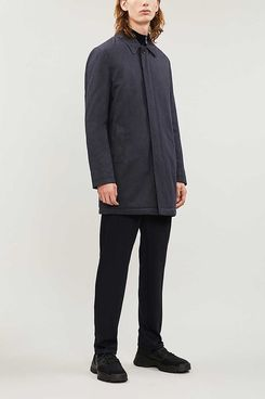 Reiss Cope Single-breasted Woven Coat