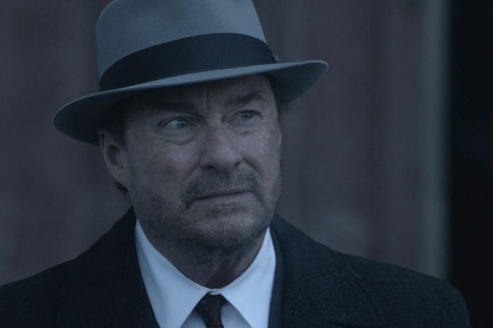 Stephen Root as the Man in the High Castle.