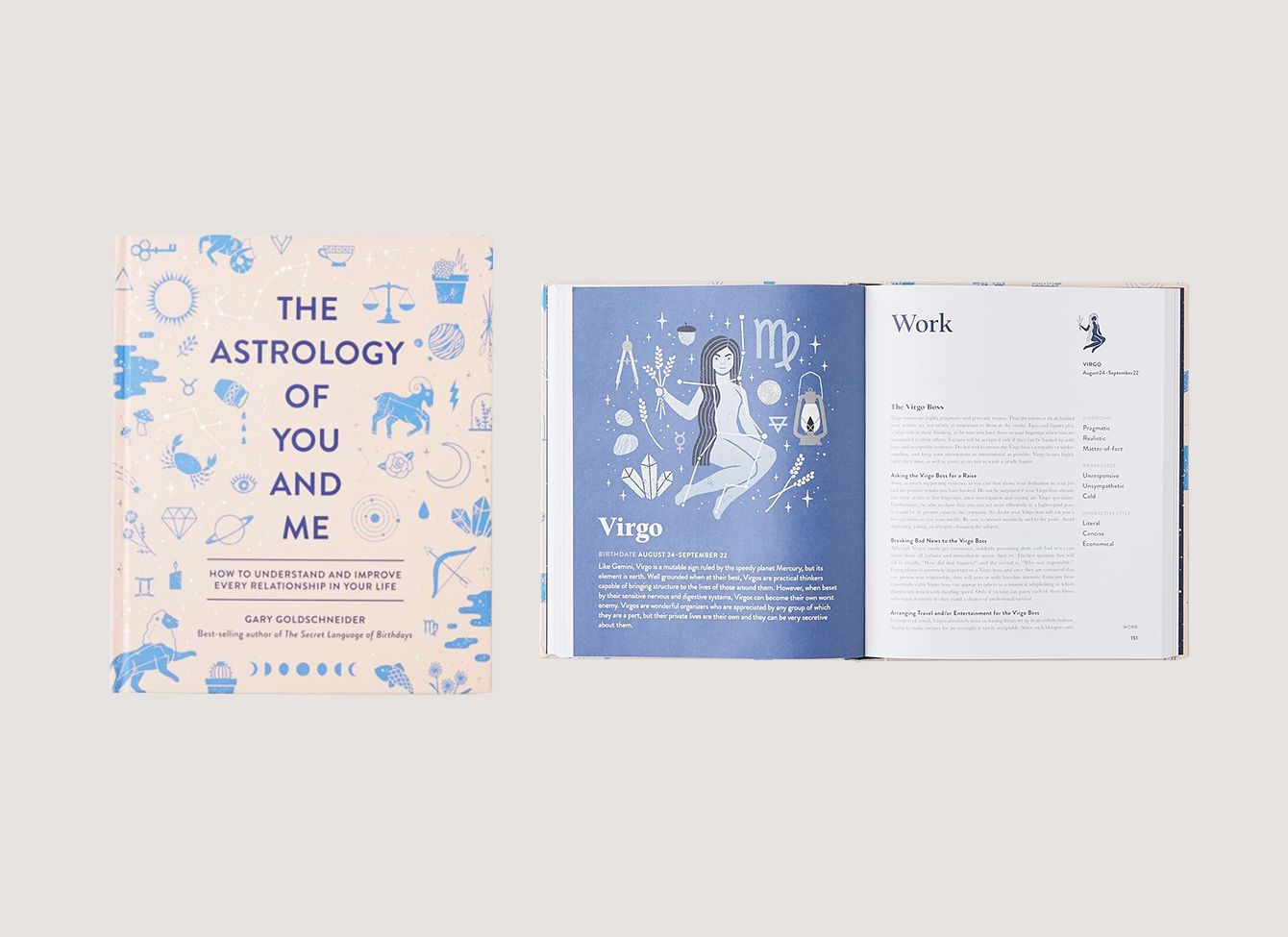 <em>The Astrology of You and Me: How to Understand + Improve Every Relationship</em>