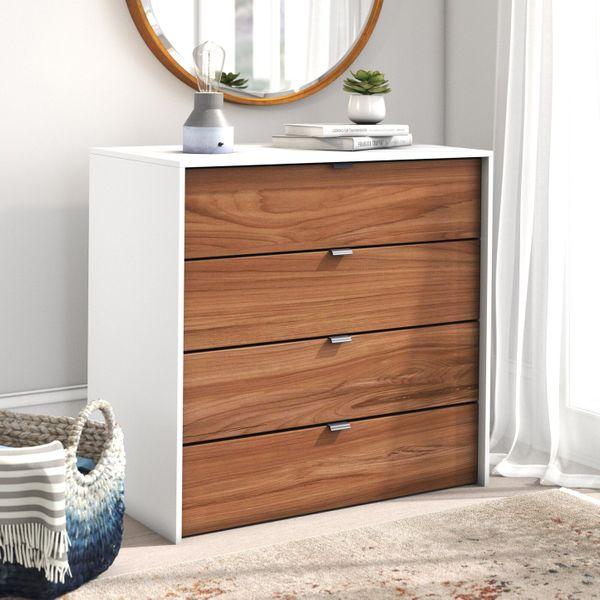 Trule Pickering 4-Drawer Dresser