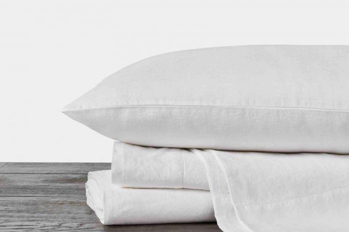 Coyuchi Organic Relaxed Linen Sheets