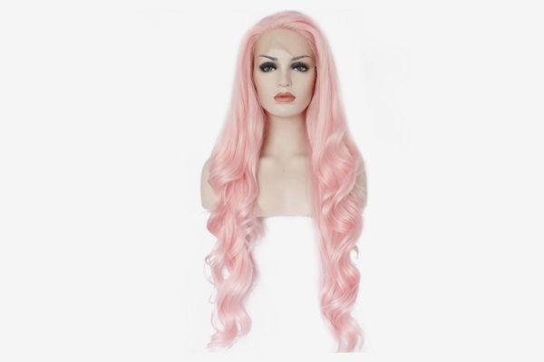 aja pastel pink wig