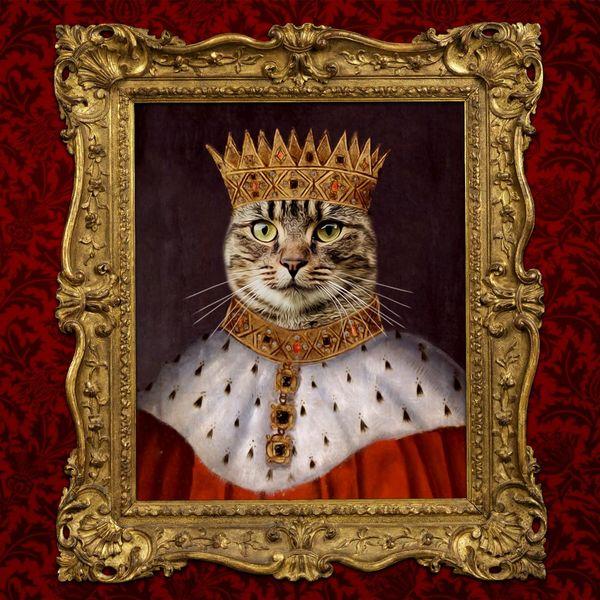 Custom Royal Cat Portrait