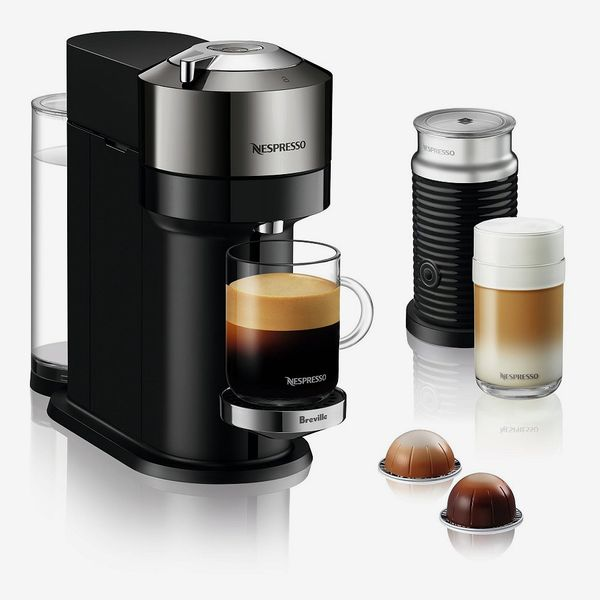 Nespresso Vertuo Next Deluxe Coffee and Espresso Maker with Aeroccino Milk Frother