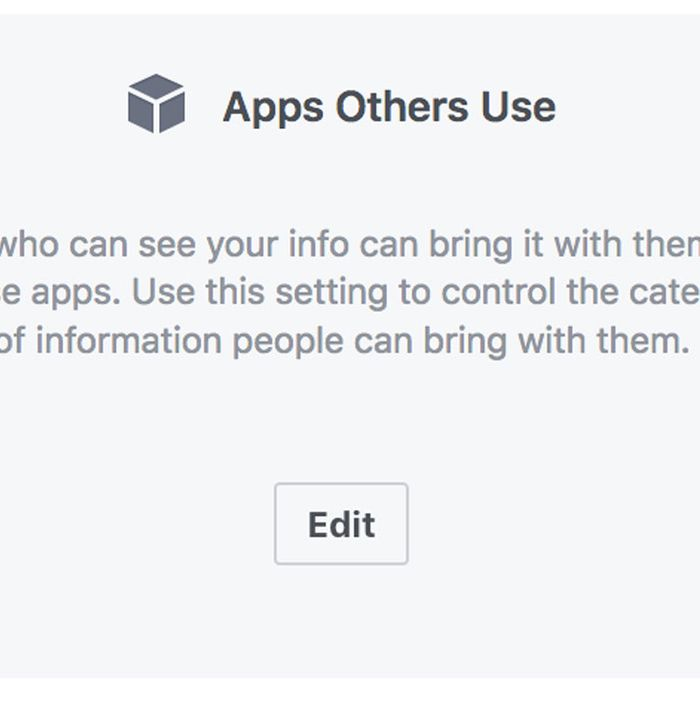 How to Stop Friends From Sharing Your Facebook Data