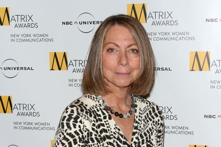 The New York Times managing editor Jill Abramson attends the 2010 Matrix Awards presented by the New York Women in Communications at the Waldorf-Astoria Hotel on Monday, April 19, 2010 in New York. (AP Photo/Evan Agostini)