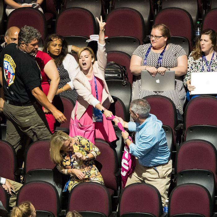 Scenes From the Republican National Convention in Cleveland, Day 1