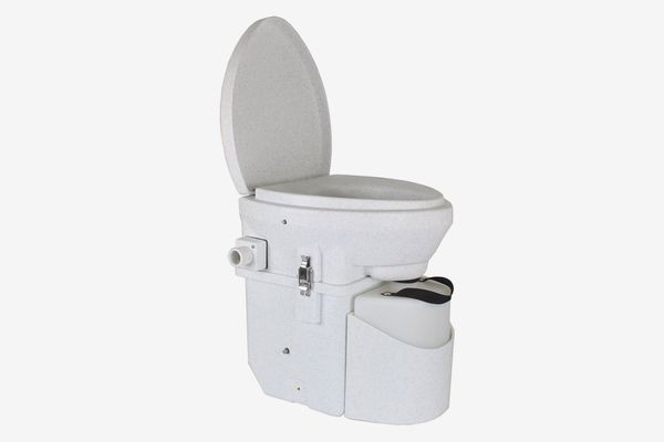Nature's Head Composting Toilet With Close Quarters Spider Handle