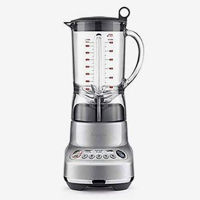 Breville The Fresh and Furious Countertop Blender, Silver