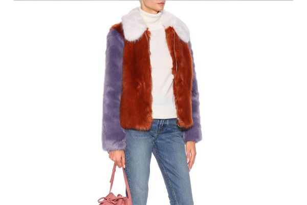 LPA Faux Fur Jacket