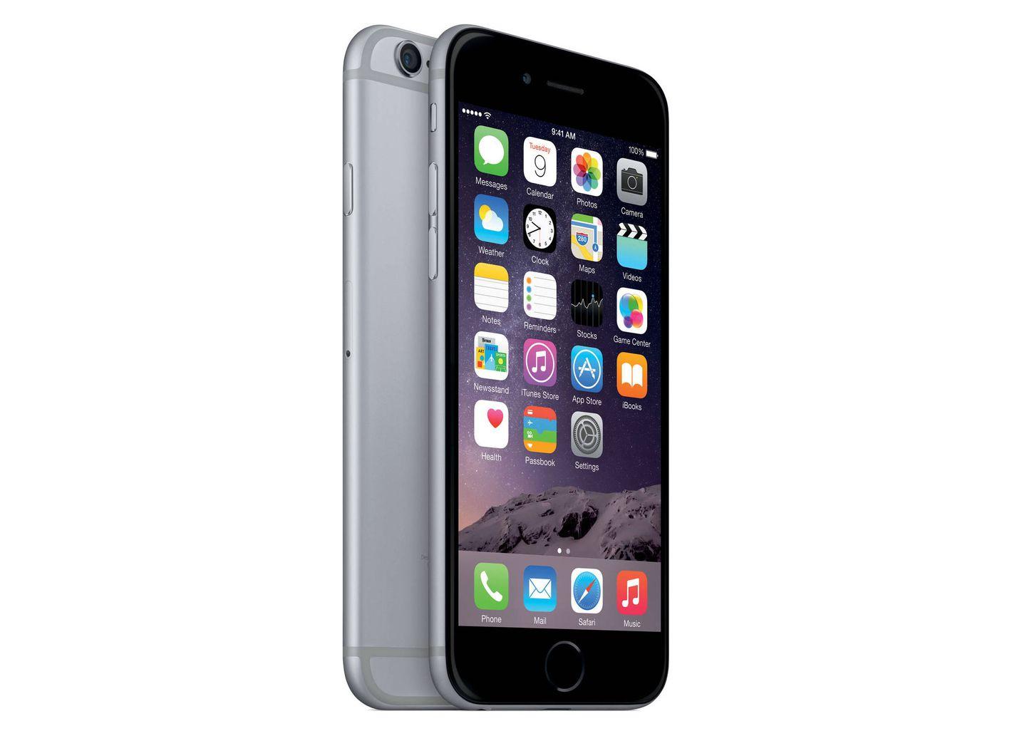 Straight Talk Apple 6 32GB Prepaid Smartphone