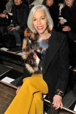 Vice President of Visual Merchandising at Bergdorf Goodman Linda Fargo attends the 3.1 Phillip Lim Fall 2012 fashion show during Mercedes-Benz Fashion Week at Highline Stages on February 13, 2012 in New York City.