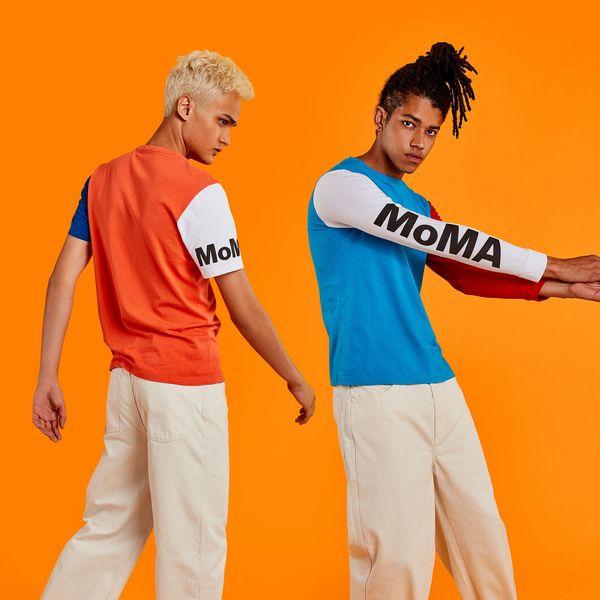 MoMA Logo Long-Sleeved T-shirt
