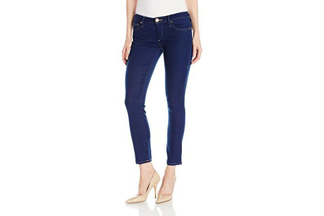 True Religion Mid Rise Crop Jeans