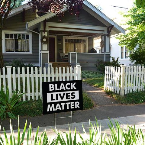 Signs of Justice Black Lives Matter Yard Signs