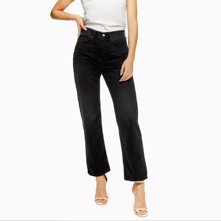 Topshop Black New Boyfriend Jeans