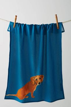 Anthropologie Dog-a-Day Dishtowel