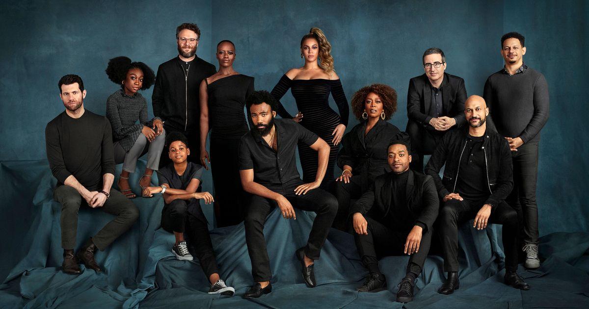 Beyoncé Presents: The Lion King Presents: a Cast Photo