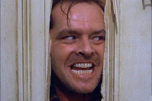 Image result for image of Jack Nicholson the Shining